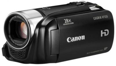 Видеокамера Canon LEGRIA HF R26 Black - общий вид