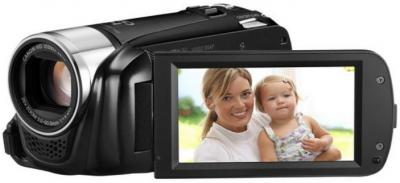 Видеокамера Canon LEGRIA HF R26 Black - дисплей
