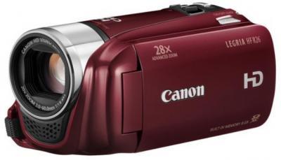 Видеокамера Canon LEGRIA HF R26 Red - общий вид