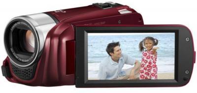Видеокамера Canon LEGRIA HF R26 Red - дисплей