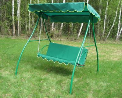 Качели садовые Метлес - 1 (с мягкими сиденьями) - общий вид