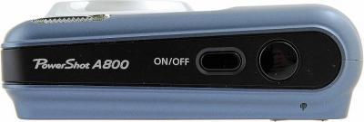 Компактный фотоаппарат Canon PowerShot A800 Gray - Вид сверху