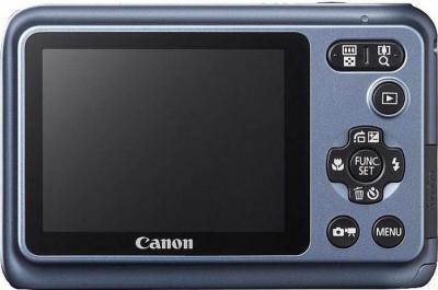 Компактный фотоаппарат Canon PowerShot A800 Gray - Вид сзади