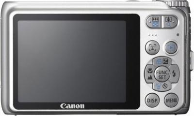 Компактный фотоаппарат Canon PowerShot A3100 IS Silver - Вид сзади