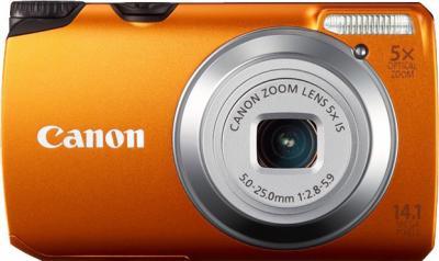 Компактный фотоаппарат Canon PowerShot A3200 IS Orange - Вид спереди