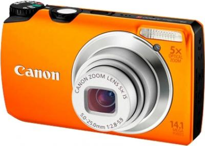 Компактный фотоаппарат Canon PowerShot A3200 IS Orange