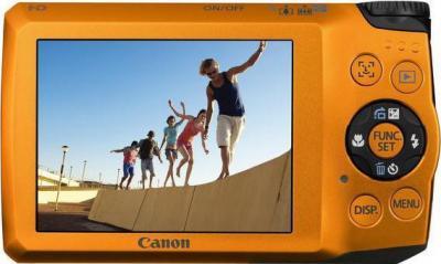 Компактный фотоаппарат Canon PowerShot A3200 IS Orange - Вид сзади