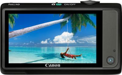 Компактный фотоаппарат Canon IXUS 1100 HS Black - Общий вид