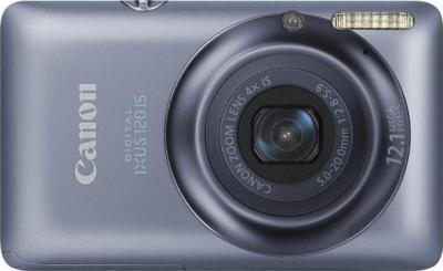 Компактный фотоаппарат Canon Digital IXUS 120 IS Blue - Общий вид