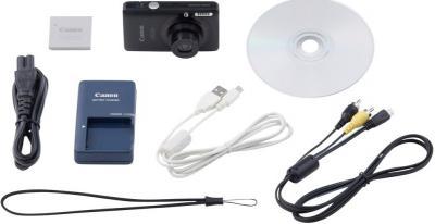 Компактный фотоаппарат Canon Digital IXUS 120 IS Blue - Общий вид: комплектация