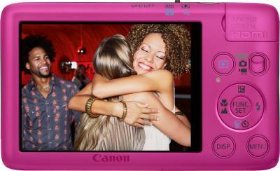 Компактный фотоаппарат Canon Digital IXUS 130 / PowerShot SD1400 IS (розовый) - Общий вид