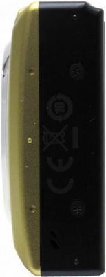 Компактный фотоаппарат Canon Digital IXUS 210 IS (PowerShot SD3500 IS) Gold - Вид сбоку