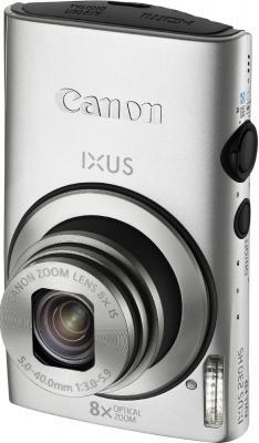 Компактный фотоаппарат Canon IXUS 230 HS Silver - Вид спереди