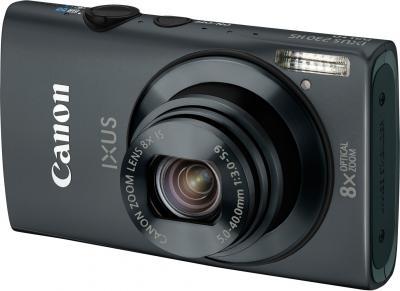 Компактный фотоаппарат Canon IXUS 230 HS Black - Вид спереди