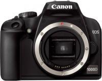 Фотоаппарат Canon EOS 1000D Body - Вид спереди