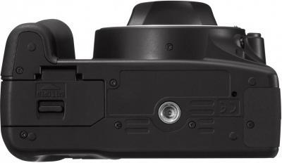Зеркальный фотоаппарат Canon EOS 1000D Body - Вид снизу
