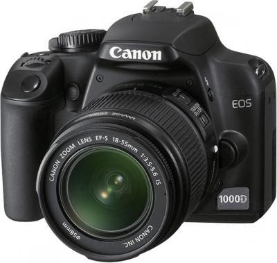 Зеркальный фотоаппарат Canon EOS 1100D Kit 18-55mm IS II (Black) - Общий вид