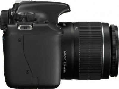 Зеркальный фотоаппарат Canon EOS 1100D Kit 18-55mm IS II (Black) - Вид сбоку