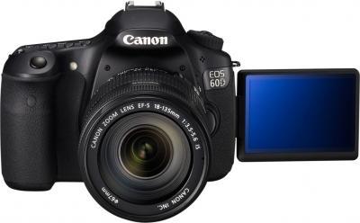 Зеркальный фотоаппарат Canon EOS 60D Kit 18-135mm IS - Вид спереди