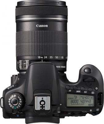 Зеркальный фотоаппарат Canon EOS 60D Kit 18-135mm IS - Вид сверху
