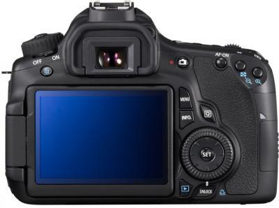 Зеркальный фотоаппарат Canon EOS 60D Kit 18-135mm IS - Вид сзади