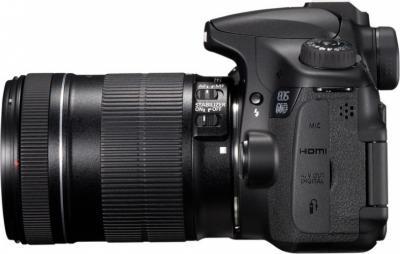 Зеркальный фотоаппарат Canon EOS 60D Kit 18-135mm IS - Вид сбоку