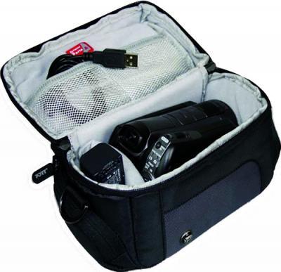 Сумка для фотоаппарата Canon CASABLANCA Camcorder - вид изнутри