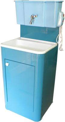 Умывальник для дачи с подогревом Метлес - 1 Водолей 000106 (кран шаровый) - цвет уточняйте при заказе