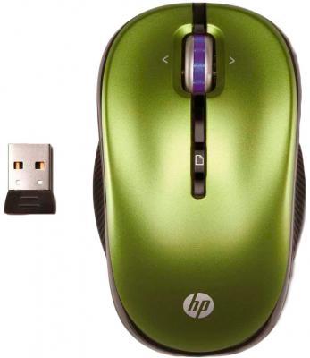 Мышь HP XP359AA Green USB - общий вид