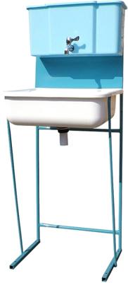Умывальник для дачи Метлес - 1 000109 (кран шаровый) - общий вид