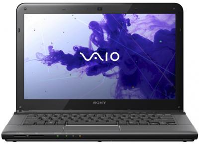 Ноутбук Sony VAIO SVE1411E1RB - фронтальный вид