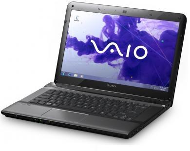 Ноутбук Sony SVE1511C1RB - спереди