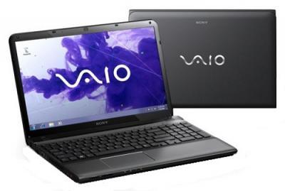 Ноутбук Sony SVE1511V1RB - Вид с двух сторон