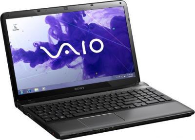 Ноутбук Sony SVE1511X1RB - Главная