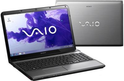Ноутбук Sony SVE1511X1RSI - Вид с двух сторон