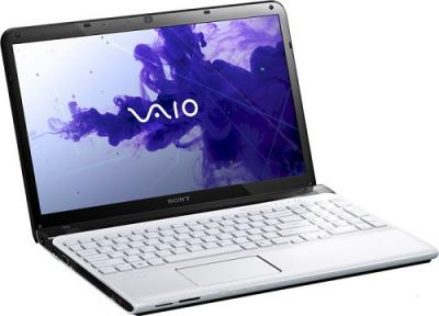 Ноутбук Sony SVE1511X1RW - Главная