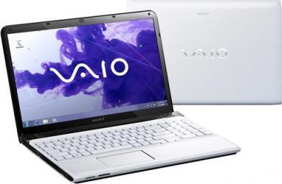 Ноутбук Sony SVE1511X1RW - Вид с двух сторон