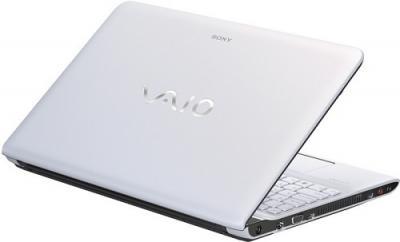 Ноутбук Sony SVE1511X1RW - Вид сзади