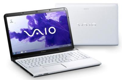 Ноутбук Sony SVE1711Q1RW - две