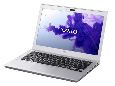 Ноутбук Sony SVT1311M1RS - спереди