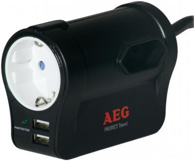 Сетевой фильтр AEG Protect Travel - общий вид