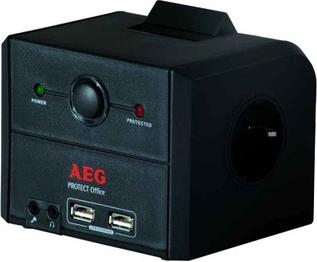 Сетевой фильтр AEG Protect Office GE - общий вид