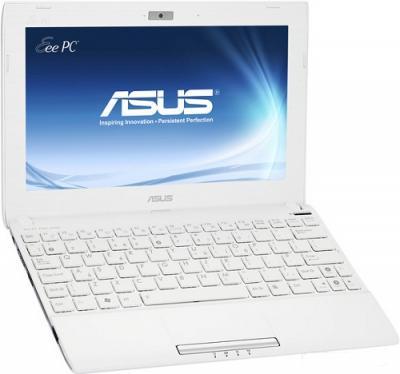 Ноутбук Asus EEE PC 1025C-WHI024S - Вид спереди сбоку