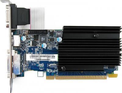 Видеокарта Sapphire HD 6450 1024MB DDR3 (11190-02-10G) - вид сверху
