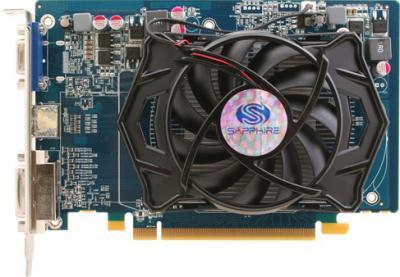 Видеокарта Sapphire Radeon HD 5550 512MB GDDR5 (11170-20-10R) - вид сверху