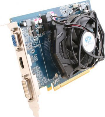 Видеокарта Sapphire Radeon HD 5550 512MB GDDR5 (11170-20-10R) - вид сбоку