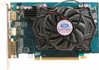 Видеокарта Sapphire HD 5670 1024MB GDDR5 HyperMemory (11168-31-10G) - вид сверху