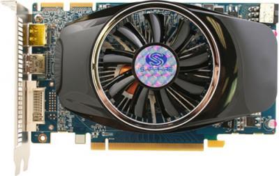 Видеокарта Sapphire HD 6750 1024MB GDDR5 (11186-01-10G) - вид сверху