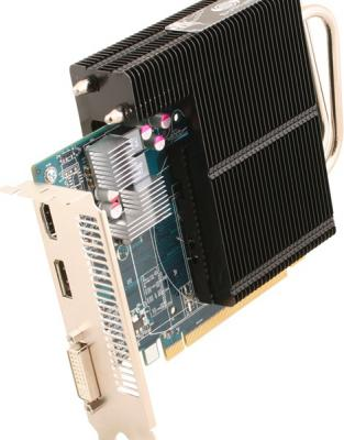 Видеокарта Sapphire Ultimate HD 6670 1024MB GDDR5 (11192-06-10G) - вид сбоку