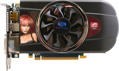 Видеокарта Sapphire HD 5770 1024MB GDDR5 (11163-17-10G) - вид сверху